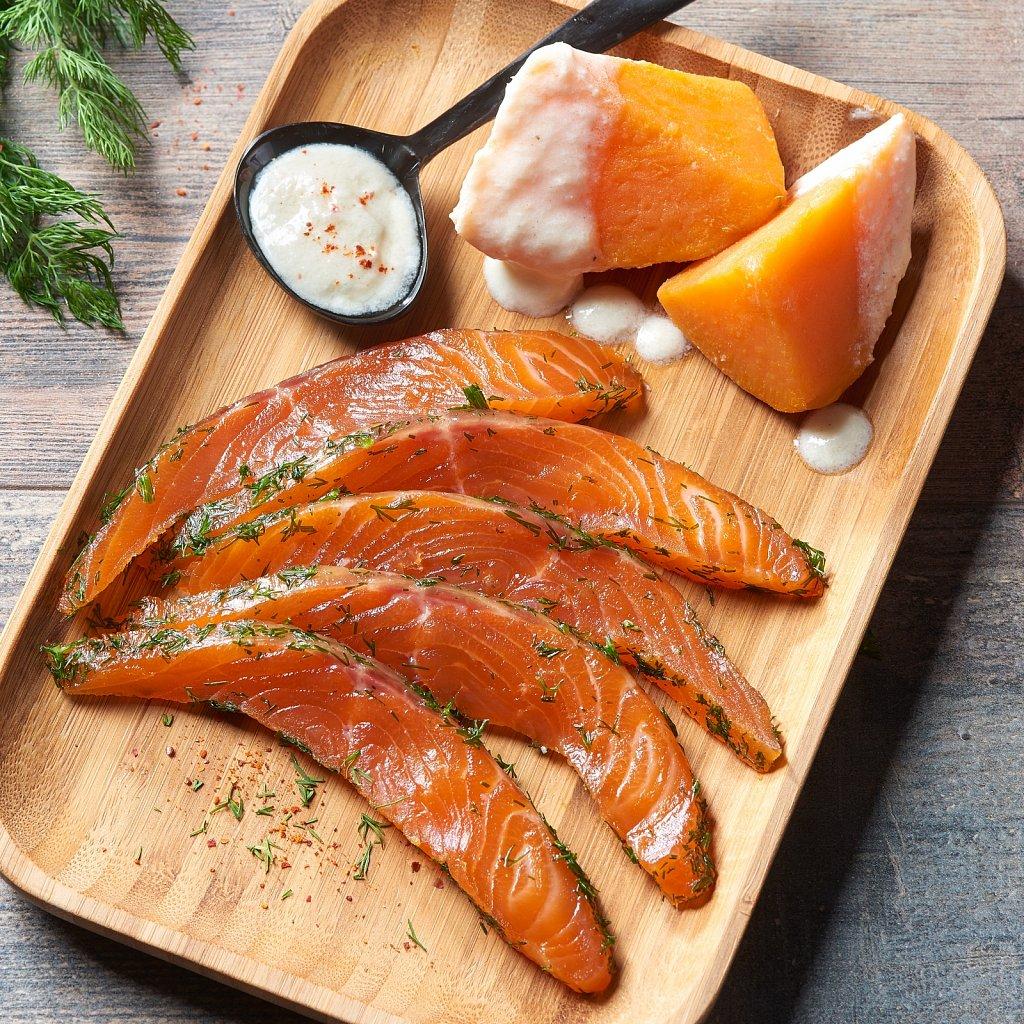 Gravlax de saumon-Sarrade